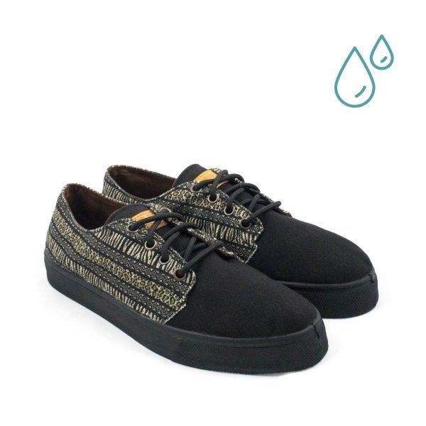 Zapatillas ecológicas mujer - MALAWI DELANTERA - ECOBLAINERS