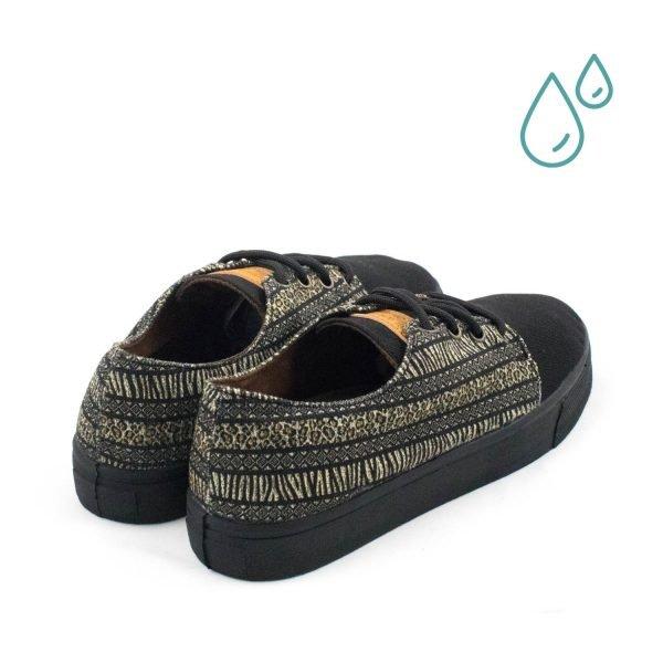 Zapatillas ecológicas mujer - MALAWI TRASERA - ECOBLAINERS