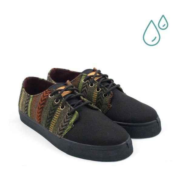 Zapatillas ecológicas unisex - APACHE DELANTERA - ECOBLAINERS